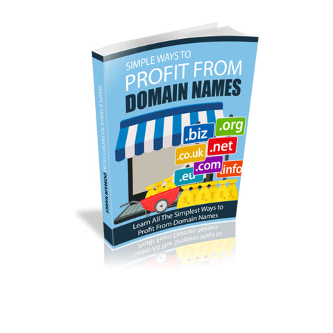 Simple Ways to Profit From Domain Names Ebook