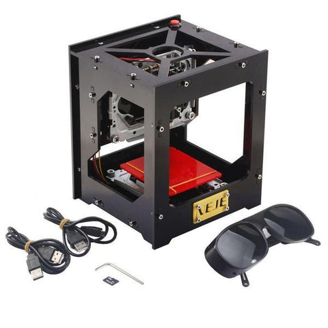Image of High Speed Laser Engraver with Protective Glasses