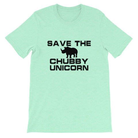 Image of Chubby Unicorn Short-Sleeve Unisex T-Shirt