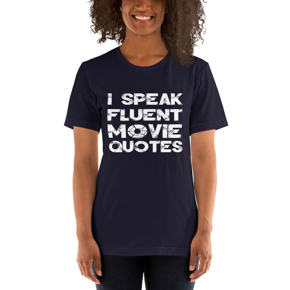 Movie Quotes Short-Sleeve Women T-Shirt