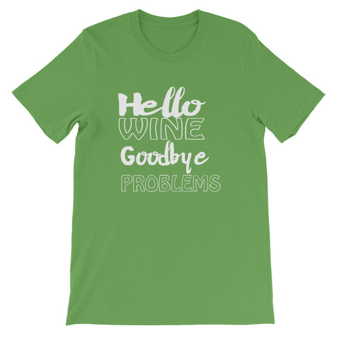 Image of Goodbye Problems Short-Sleeve Unisex T-Shirt