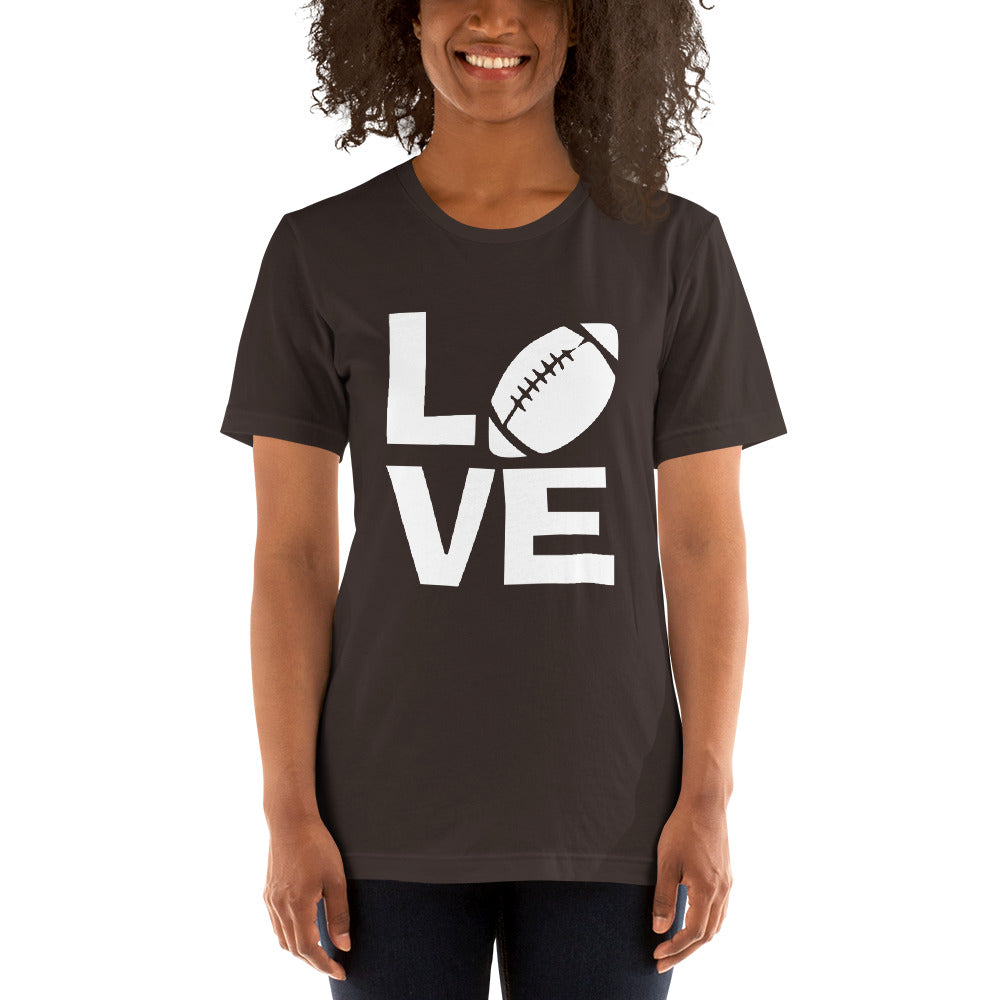 Love Football Short-Sleeve Women T-Shirt