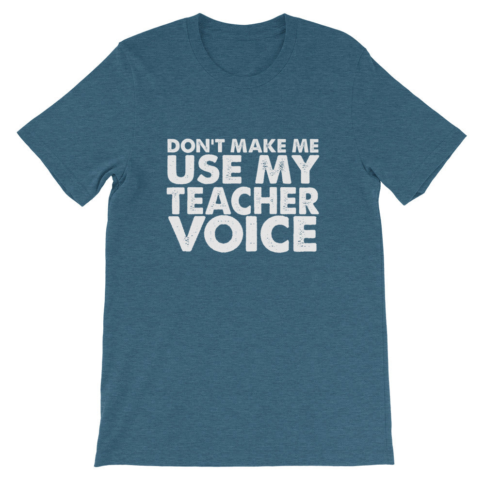 Teacher Voice Short-Sleeve Unisex T-Shirt