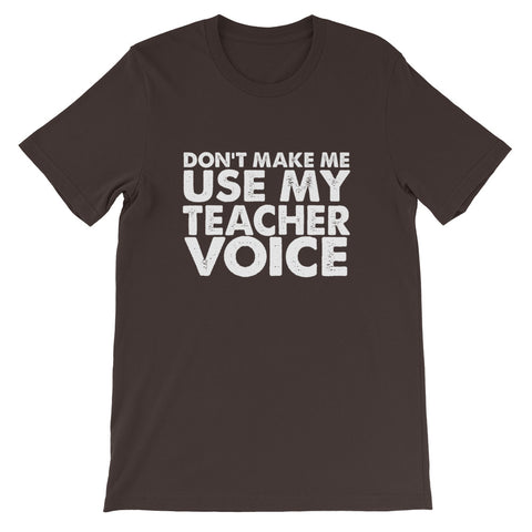 Image of Teacher Voice Short-Sleeve Unisex T-Shirt