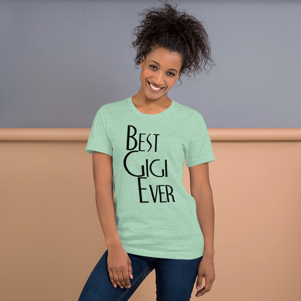 Best Gigi Ever Short-Sleeve Women T-Shirt