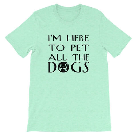Image of Pet All The Dogs Short-Sleeve Unisex T-Shirt