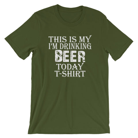 Image of Beer Today Short-Sleeve Women T-Shirt