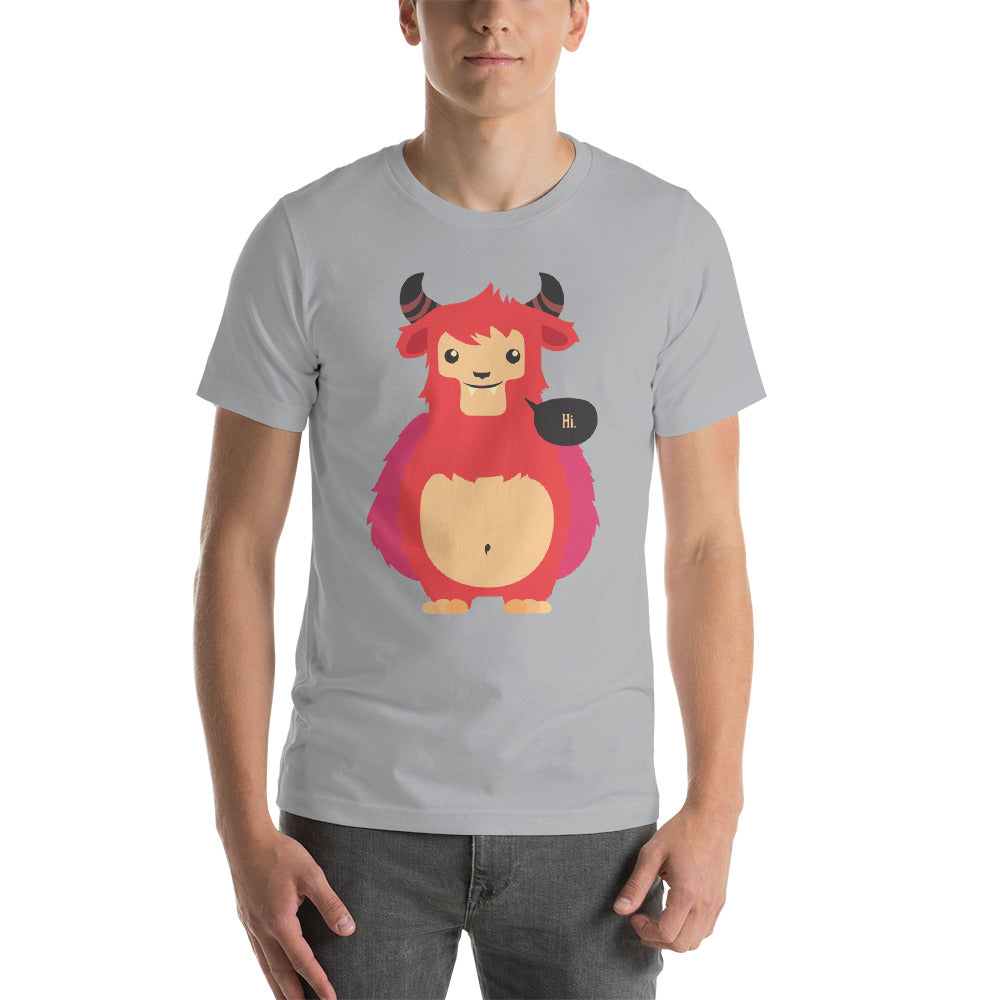 Hello Short-Sleeve Unisex T-Shirt