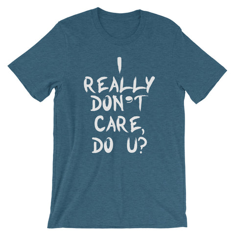 Image of Really Don't Care Short-Sleeve Women T-Shirt