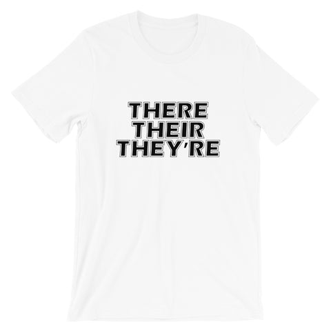 Image of There Their They're Short-Sleeve Women T-Shirt