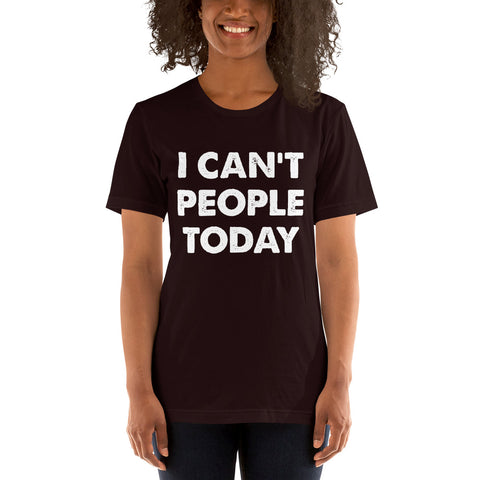Image of People Today Short-Sleeve Women T-Shirt