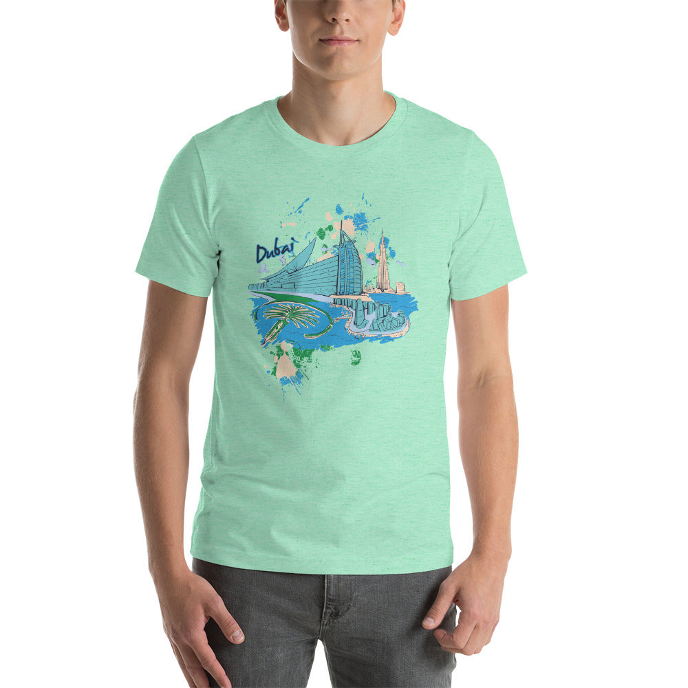Dubai Short-Sleeve Unisex T-Shirt