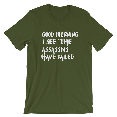 Image of Failed Assassins Short-Sleeve Unisex T-Shirt