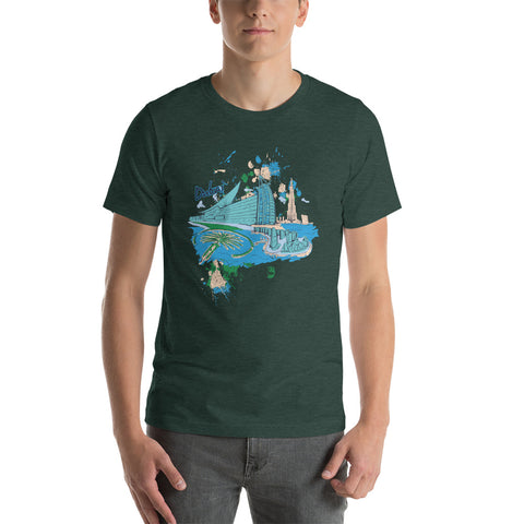 Image of Dubai Short-Sleeve Unisex T-Shirt