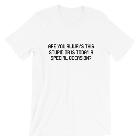 Image of Special Occasion Short-Sleeve Unisex T-Shirt