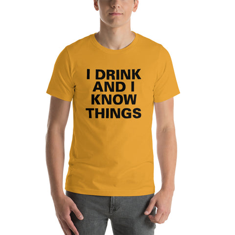 Image of I Know Things Short-Sleeve Unisex T-Shirt