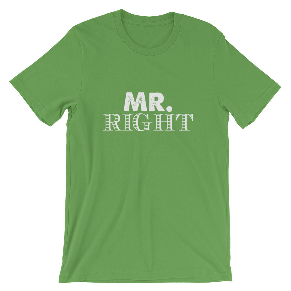 Mr. Right Short-Sleeve Women T-Shirt