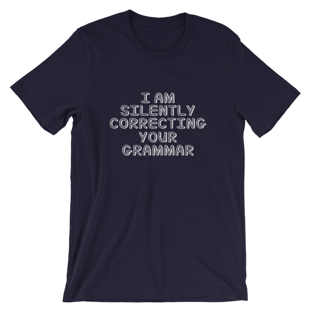 Correcting Your Grammar Short-Sleeve Unisex T-Shirt