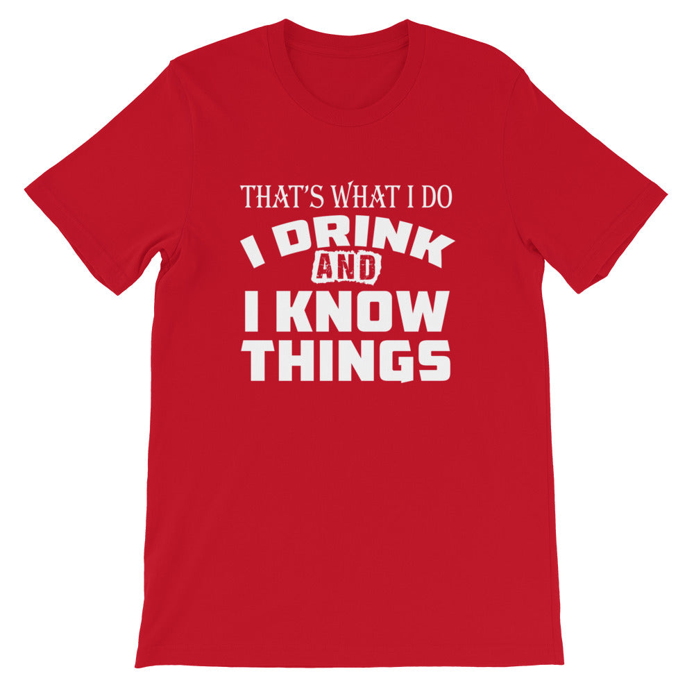 I Know Things Short-Sleeve Women T-Shirt