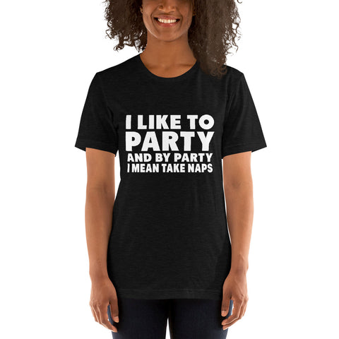 Image of Like To Party Short-Sleeve Women T-Shirt