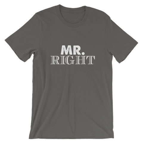 Image of Mr. Right Short-Sleeve Women T-Shirt