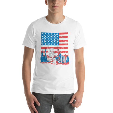 Image of USA Short-Sleeve Unisex T-Shirt