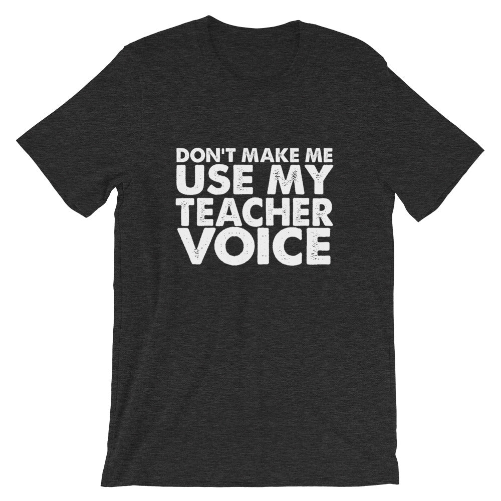 Teacher Voice Short-Sleeve Women T-Shirt