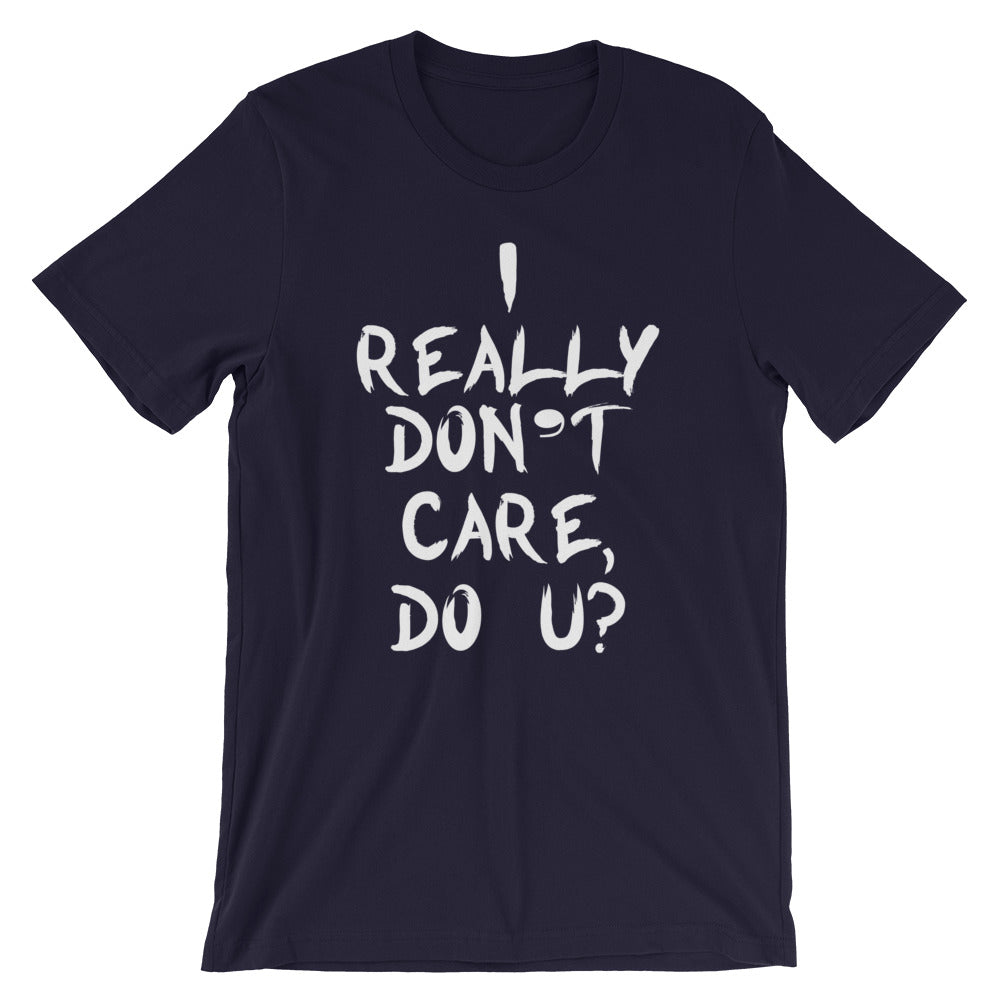 Really Don't Care Short-Sleeve Women T-Shirt