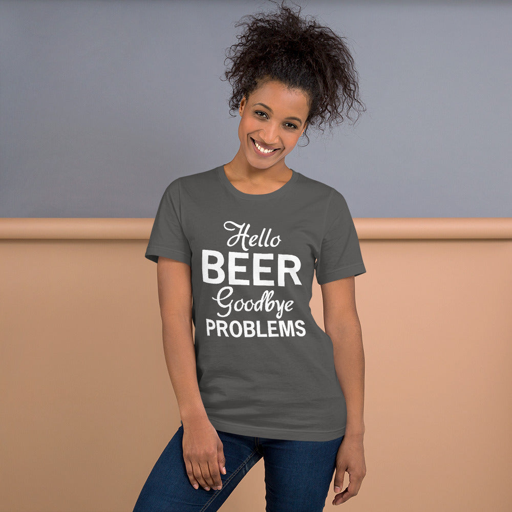 Goodbye Problems Short-Sleeve Women T-Shirt