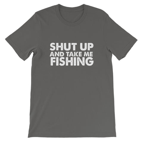 Image of Take Me Fishing Short-Sleeve Unisex T-Shirt