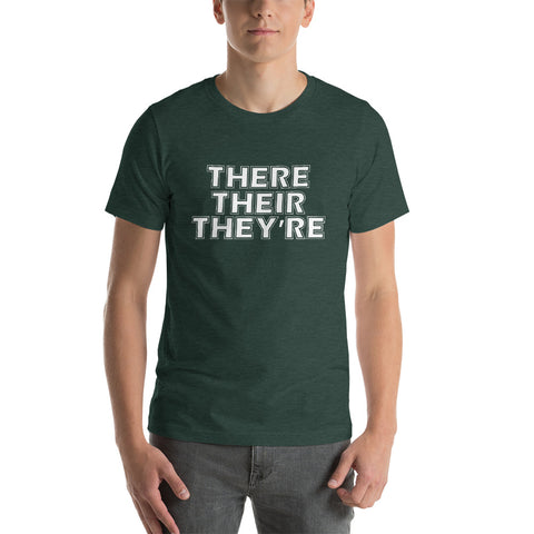 Image of There Their They're Short-Sleeve Unisex T-Shirt