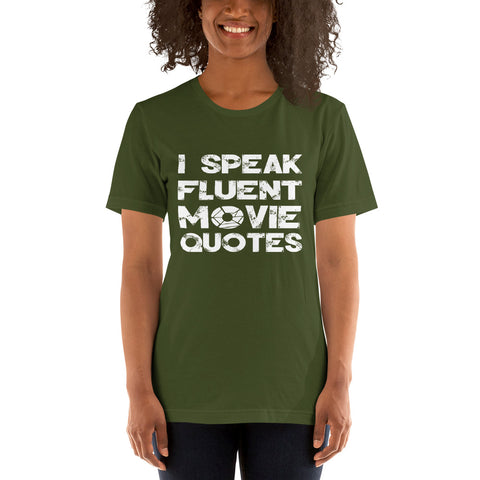 Image of Movie Quotes Short-Sleeve Women T-Shirt
