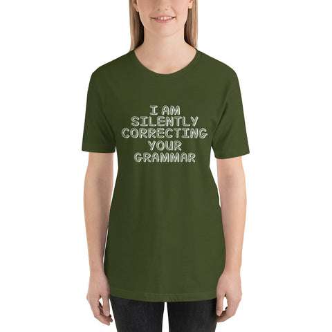 Image of Correcting Your Grammar Short-Sleeve Women T-Shirt