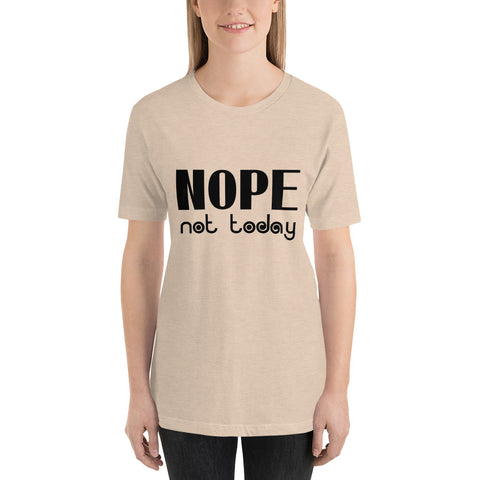 Image of Nope Not Today Short-Sleeve Women T-Shirt