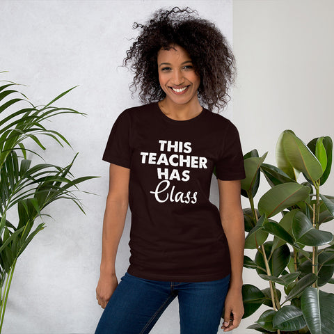 Image of Teacher Has Class Short-Sleeve Women T-Shirt