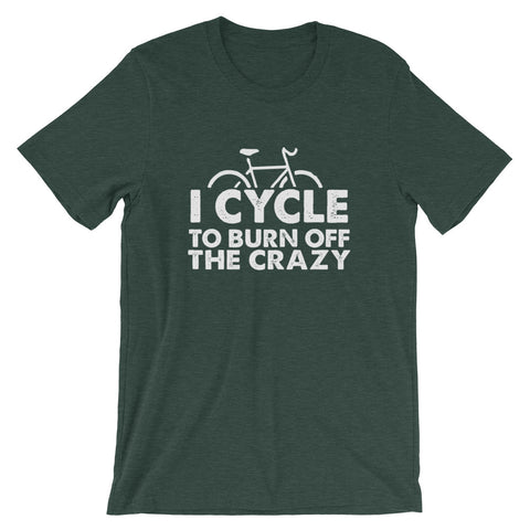 Image of Burn Off The Crazy Short-Sleeve Unisex T-Shirt