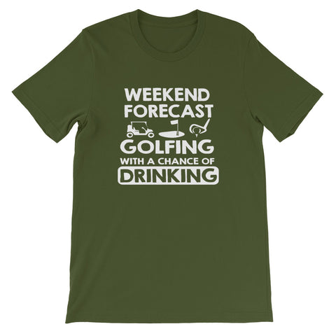 Image of Weekend Forecast Short-Sleeve Unisex T-Shirt