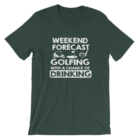 Image of Weekend Forecast Short-Sleeve Women T-Shirt
