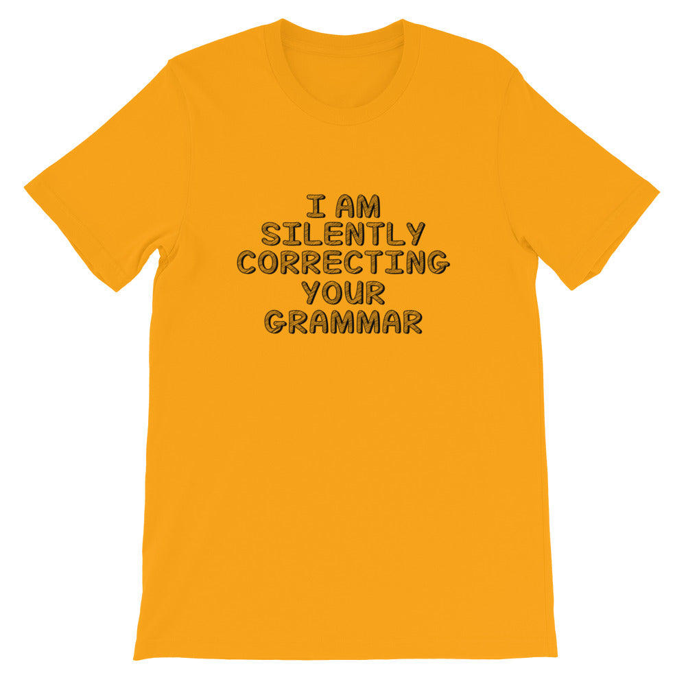 Correcting Your Grammar Short-Sleeve Women T-Shirt