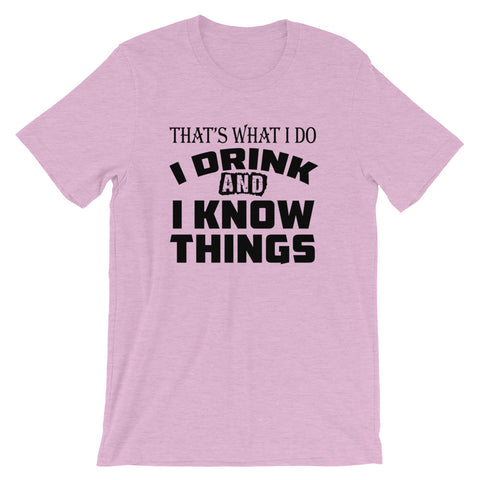 Image of I Know Things Short-Sleeve Women T-Shirt