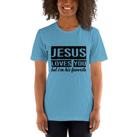 Image of His Favorite Short-Sleeve Women T-Shirt