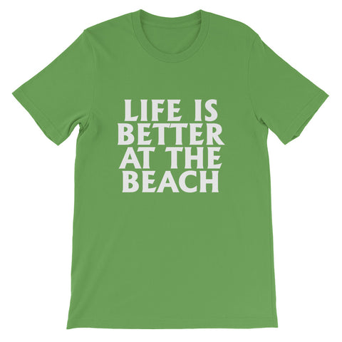 Image of Better At The Beach Short-Sleeve Unisex T-Shirt