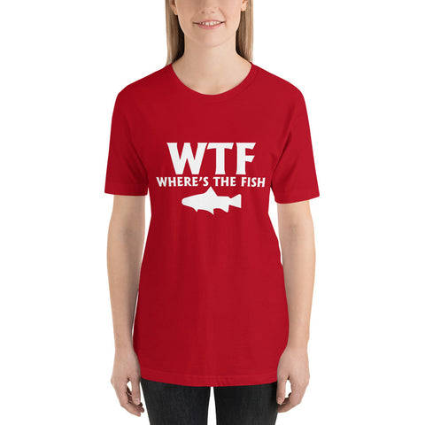 Image of Where's The Fish Short-Sleeve Women T-Shirt