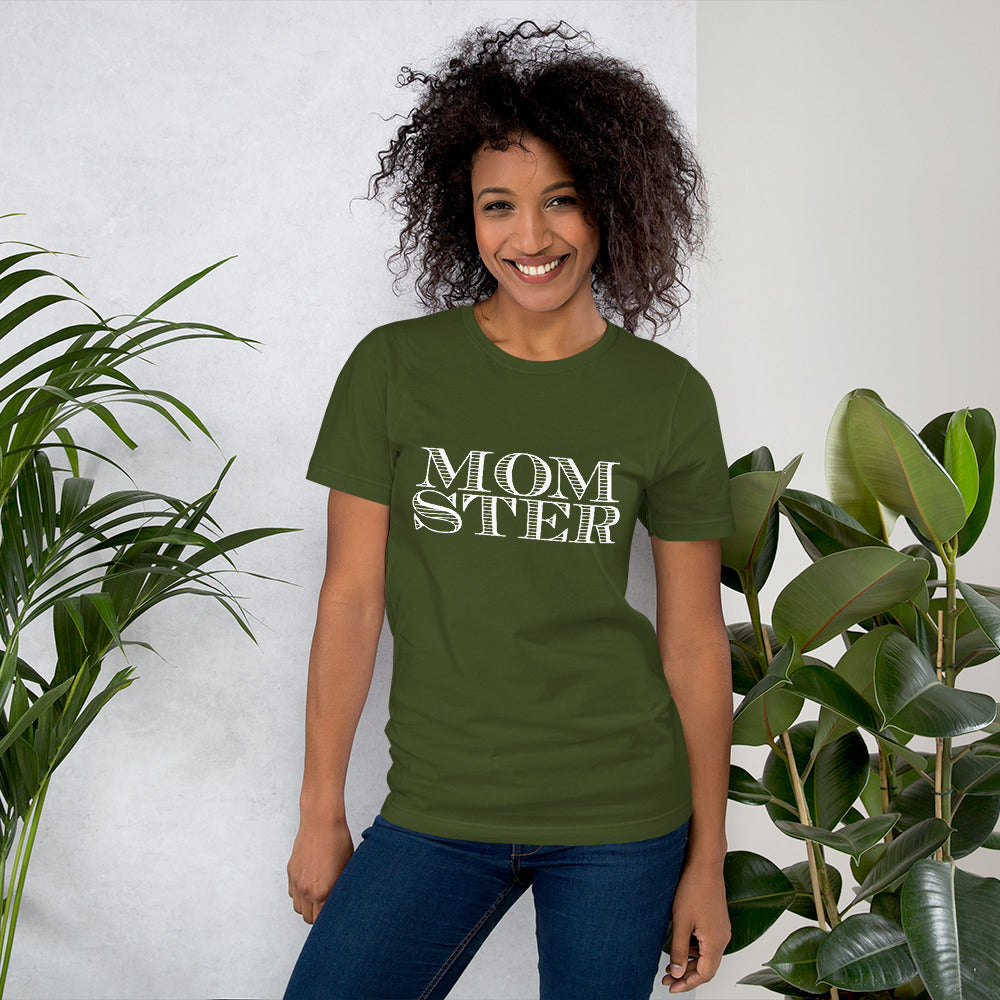 Momster Short-Sleeve Women T-Shirt