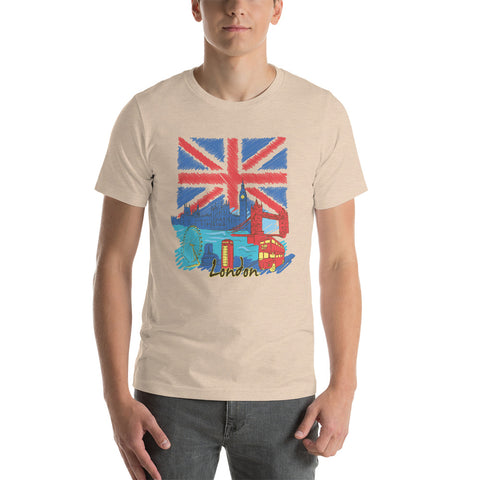 Image of London Short-Sleeve Unisex T-Shirt