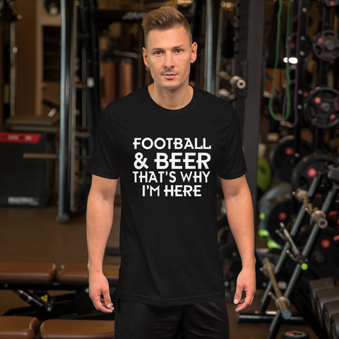 Image of That's Why I'm Here Short-Sleeve Unisex T-Shirt