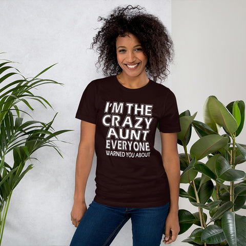Image of Crazy Aunt Short-Sleeve Women T-Shirt