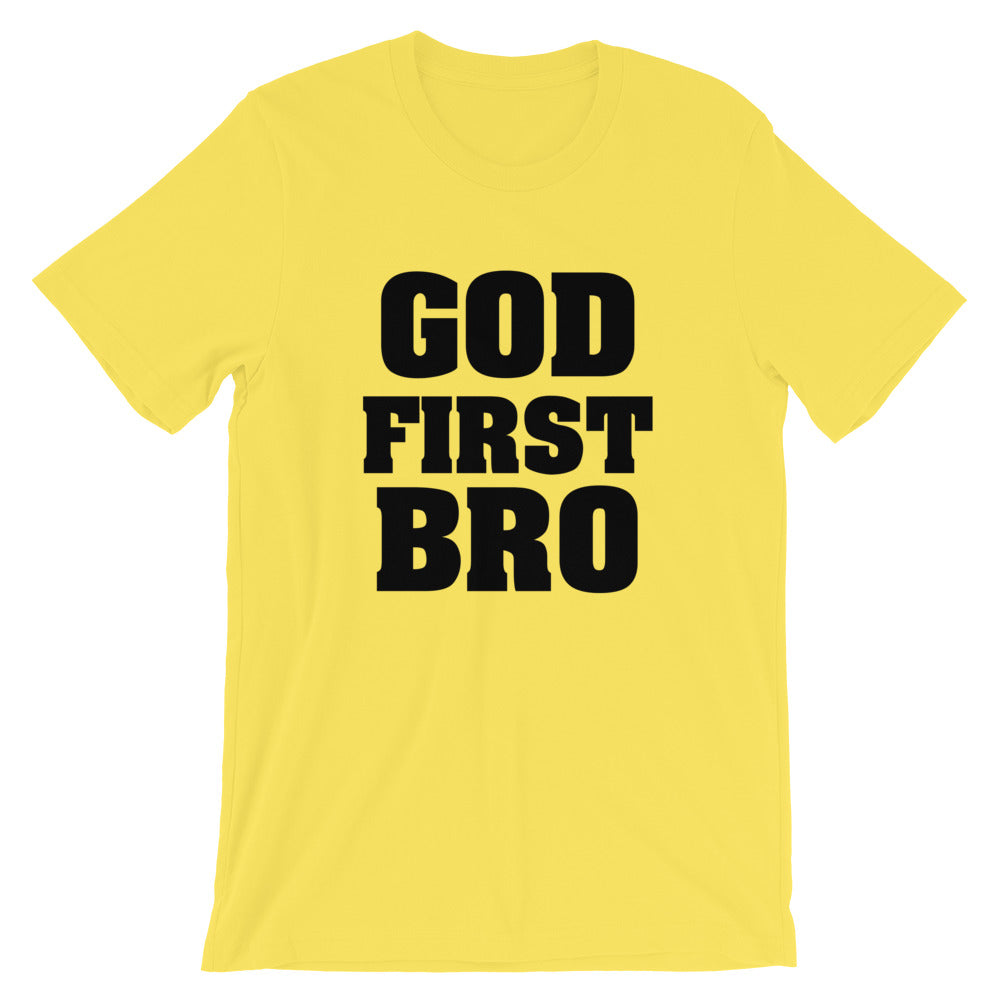 God First Short-Sleeve Unisex T-Shirt