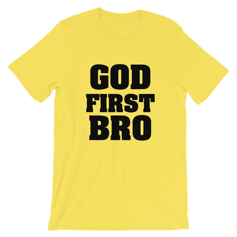 Image of God First Short-Sleeve Unisex T-Shirt