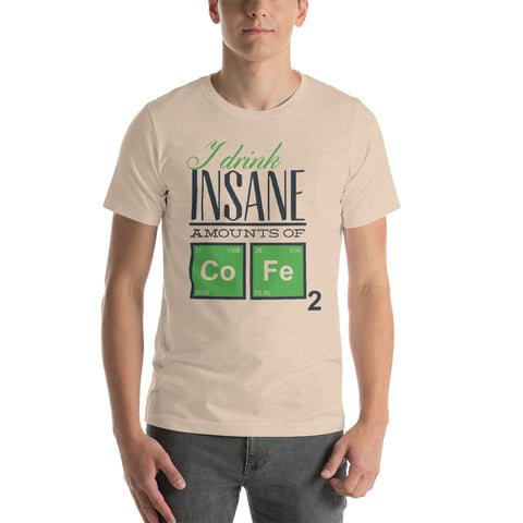 Image of Drink Insane Short-Sleeve Unisex T-Shirt